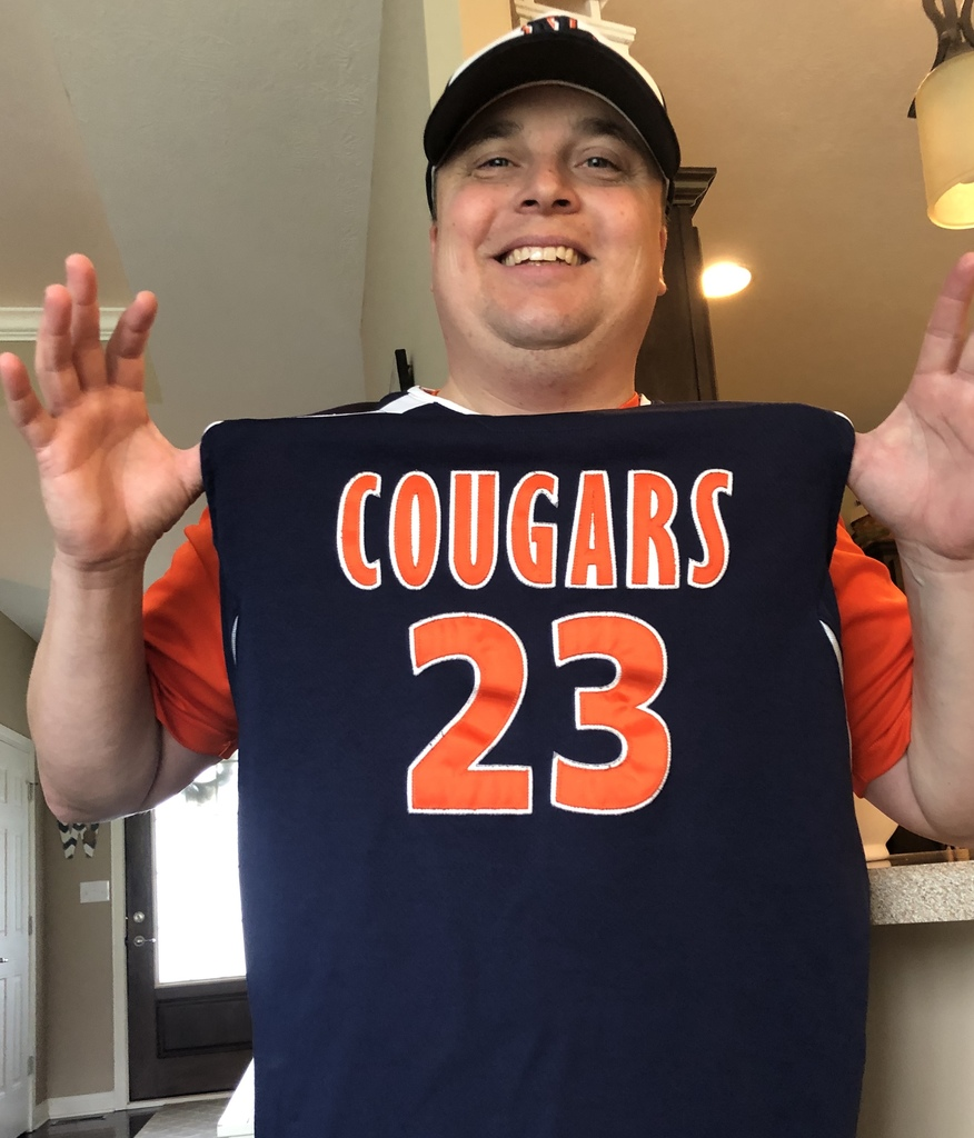 Mr. Wagler #23 in Cougar jersey