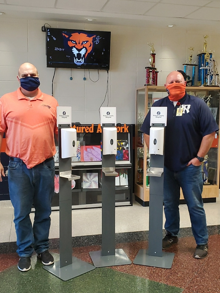 Mr. Scott Miller and Mr. Bucky Kramer, NPMS Principal and NPMS Asst. Principal/AD